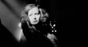 16th May 1928:  Swedish-American actress Greta Garbo (1905 - 1990) as the glamorous Russian spy Tania in the romantic drama 'The Mysterious Lady', directed by Fred Niblo.  (Photo via John Kobal Foundation/Getty Images)