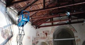 ex convento lavori luci 1