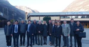 Incontro delegazione Cina