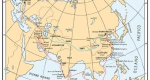 Cartina itinerario Odorico
