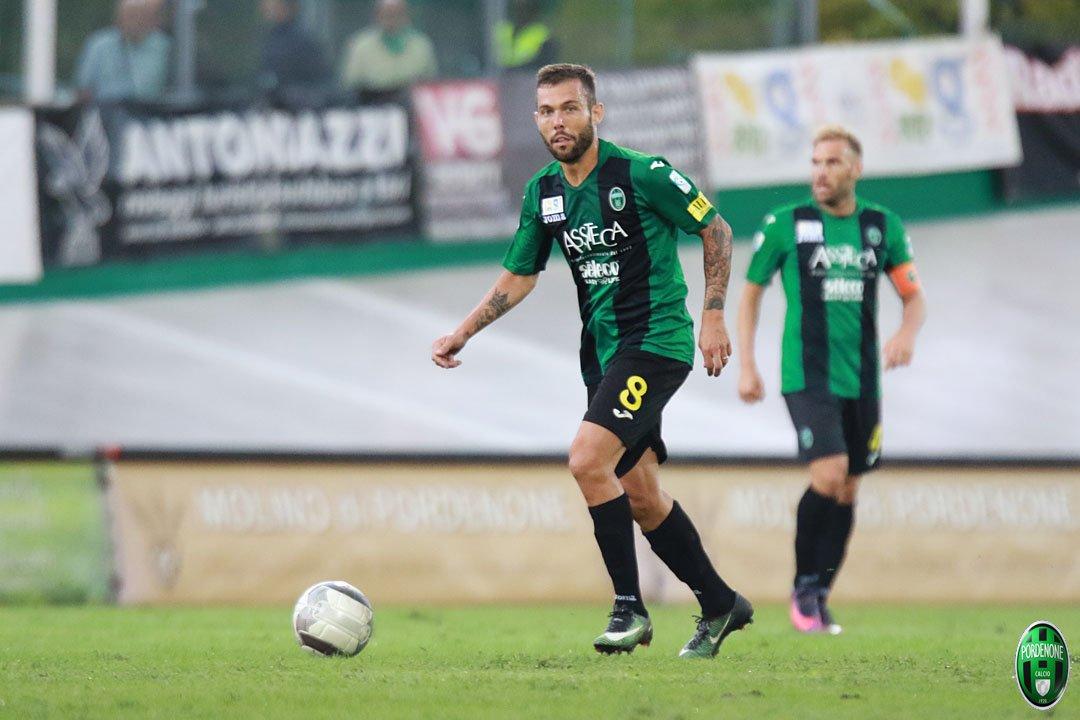 Serie C 2017/18 - Girone B Pordenone vs Sudtirol, 3-1. © PordenoneCalcio/AR