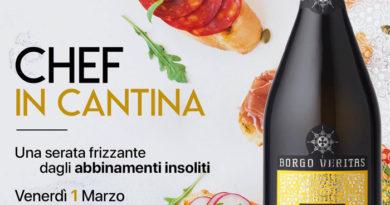 Borgo Veritas, evento gourmet venerdì 1° marzo