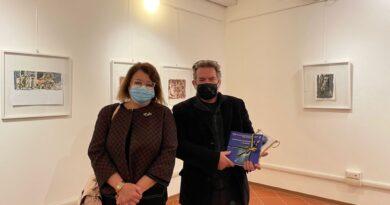 Fidapa visita la mostra del pittore pordenonese Stefano Jus